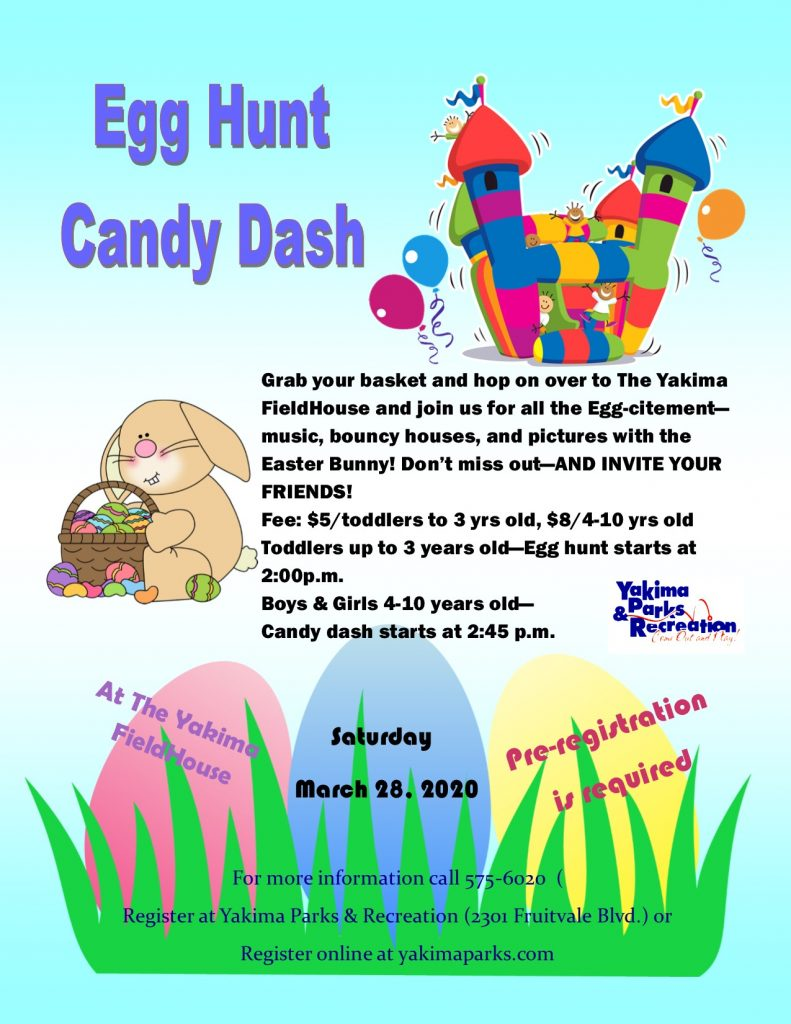 2020 Egg Hunt Candy Dash